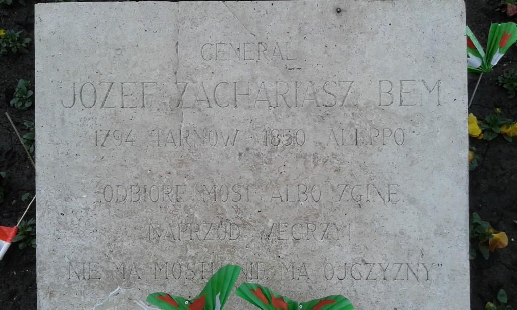 pomnik-bema-budapeszt-tablica
