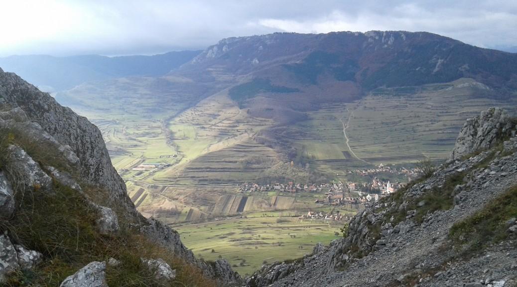 Widok na Torockó z szeklerskiej skały